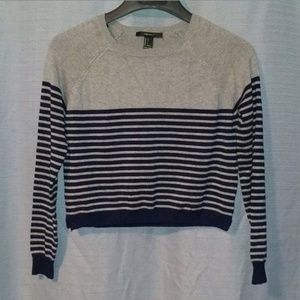 Forever 21 Striped Sweater Size S